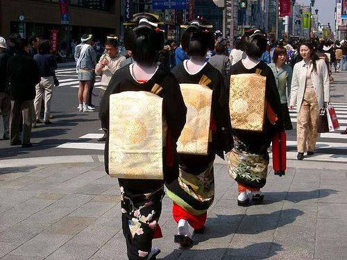 Geisha Trio