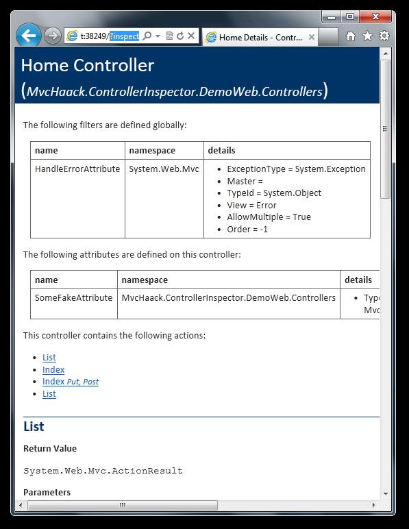 controller-inspector