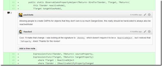 sample code review