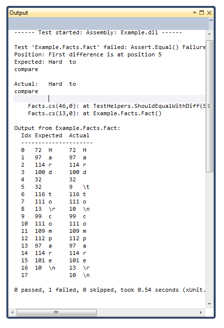 test-compare-output