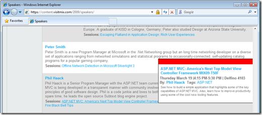 Speakers - Windows Internet Explorer