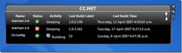 CCNET Gadget Undocked